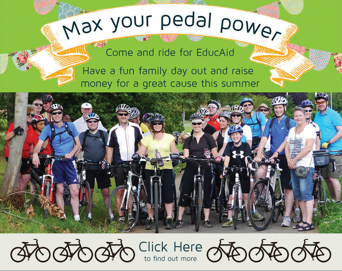 Bike Ride Website Banner