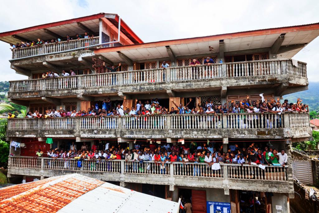 Big Schoolat EducAid Charity Sierra Leone